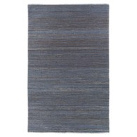 Cade Navy Handwoven Rug by Arhaus.