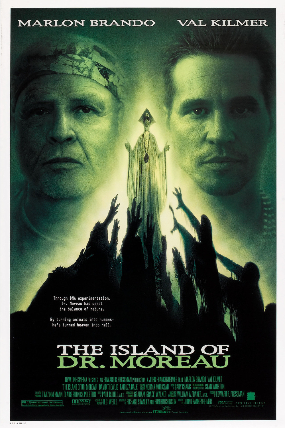 Image result for The Island of Dr. Moreau (1996)