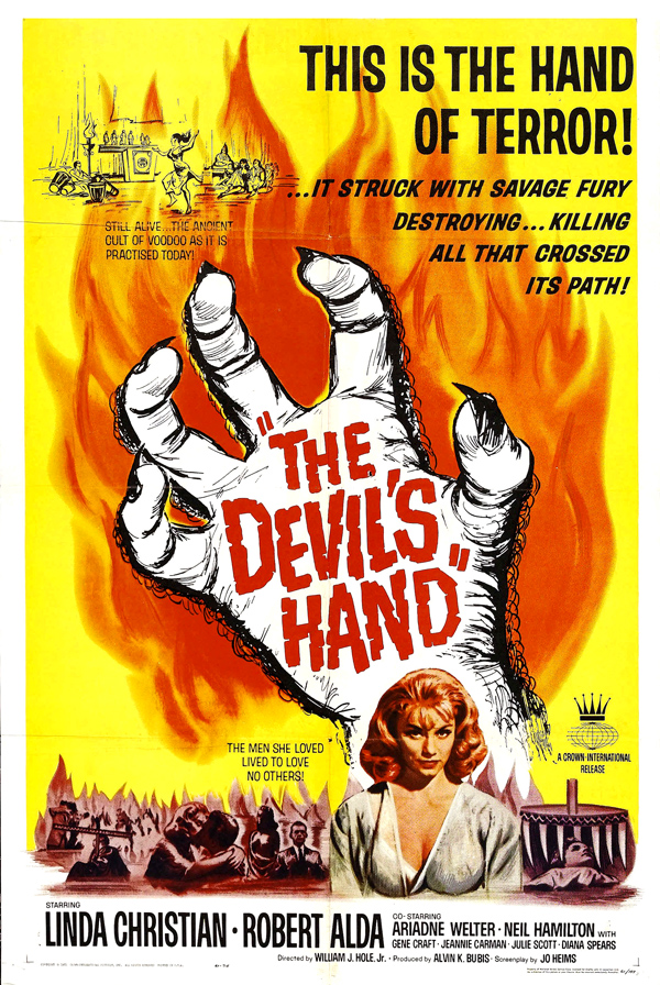 The Devil's Hand (1961) by Gillythek @echidnabot