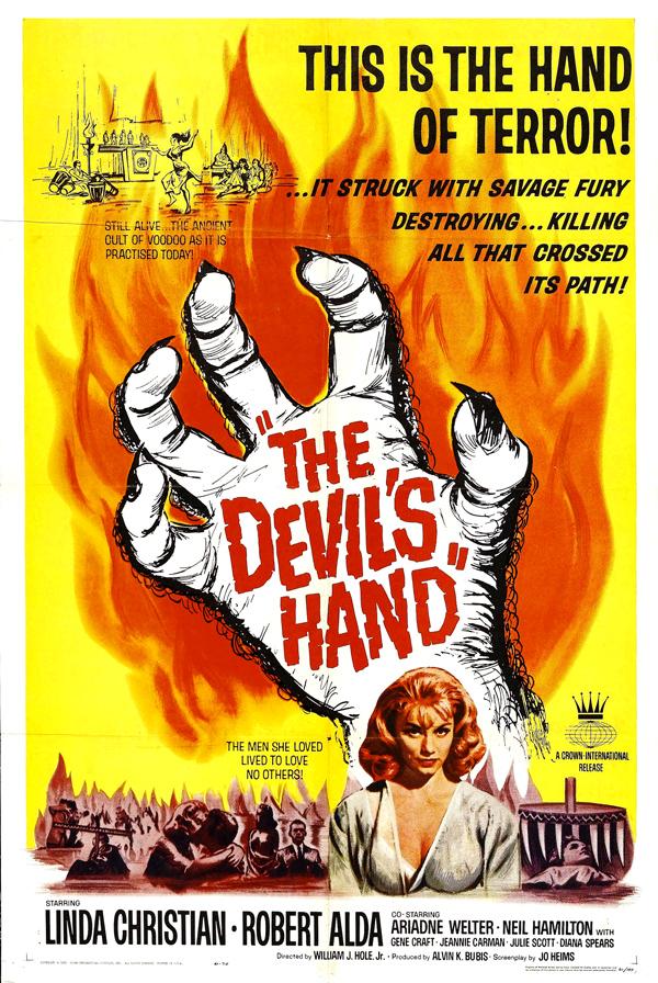 The Devil's Hand (1961) by Gillythek @echidnabot