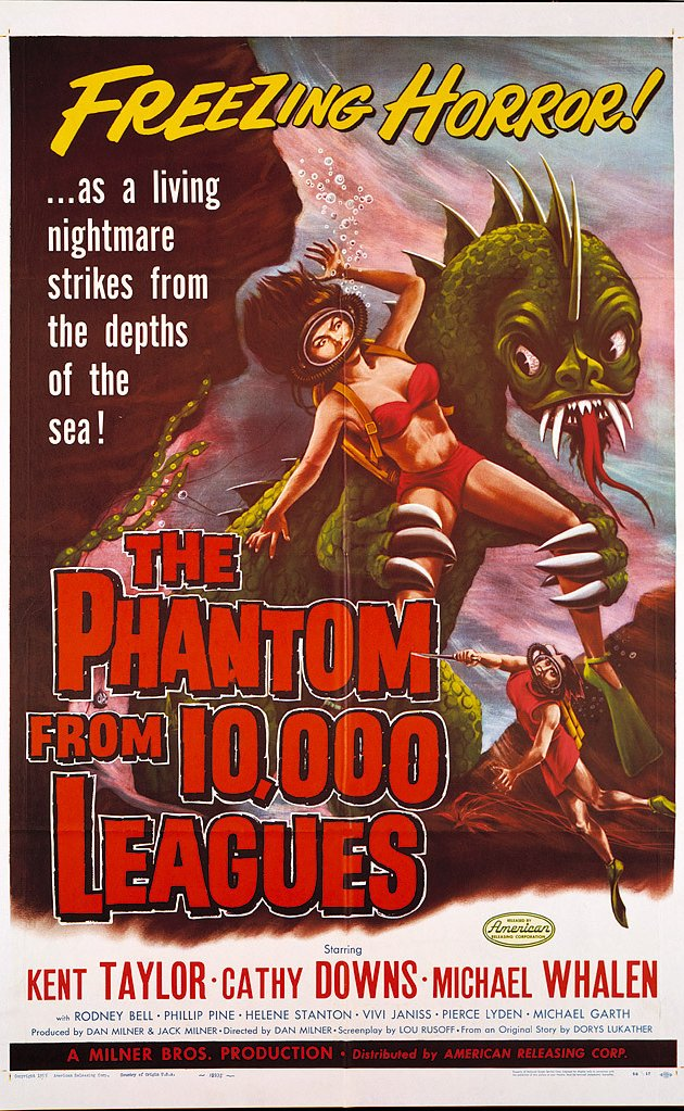 #BMovieManiacs Event: Phantom From 10000 Leagues