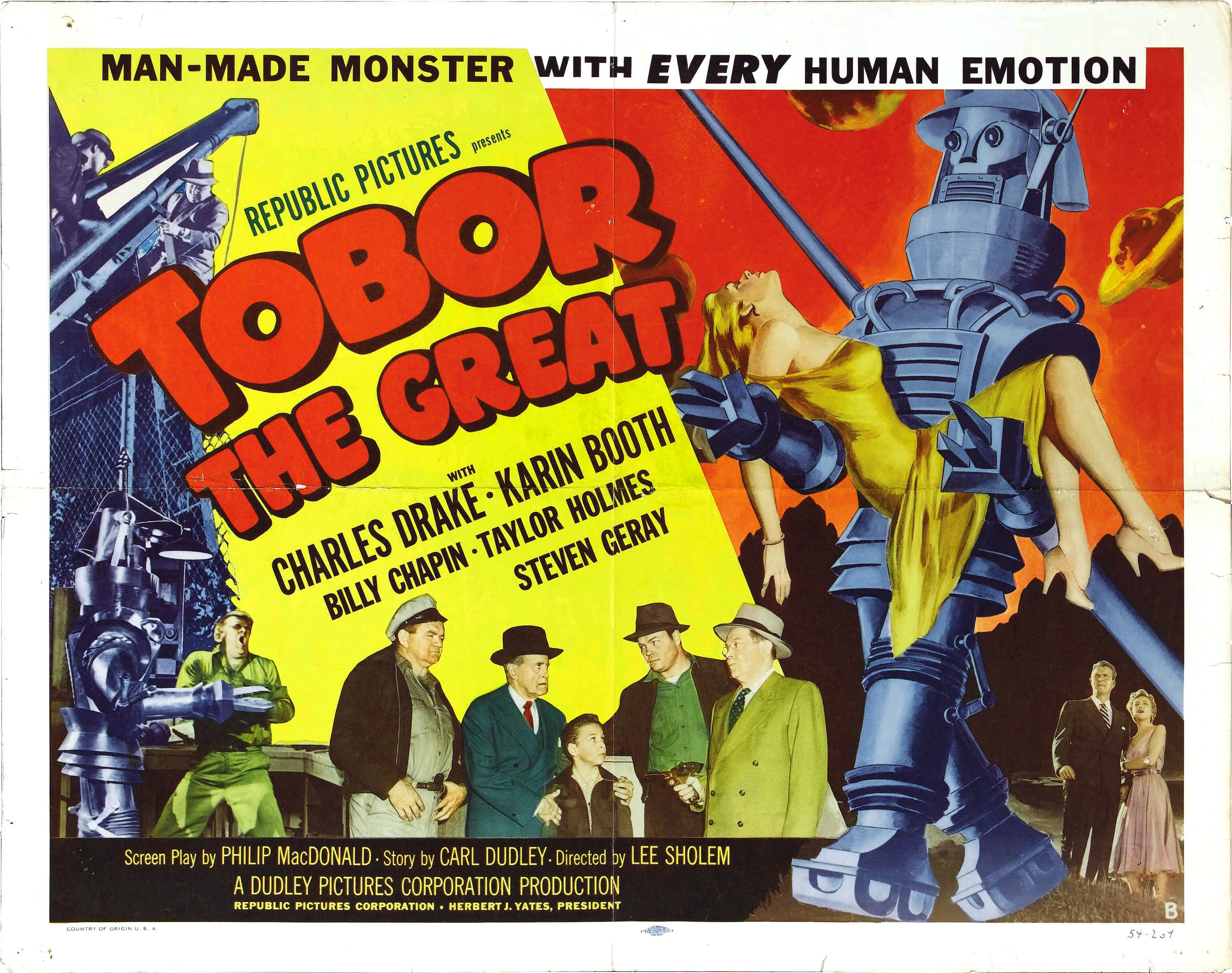 #BMovieManiacs Event: Tobor the Great