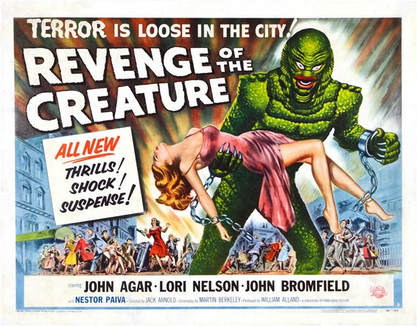 #BMovieManiacs Event: Revenge of the Creature
