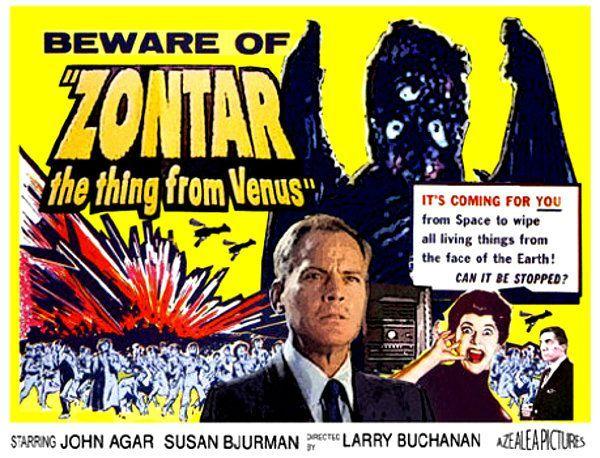#BMovieManiacs Event: Zontar, The Thing From Venus