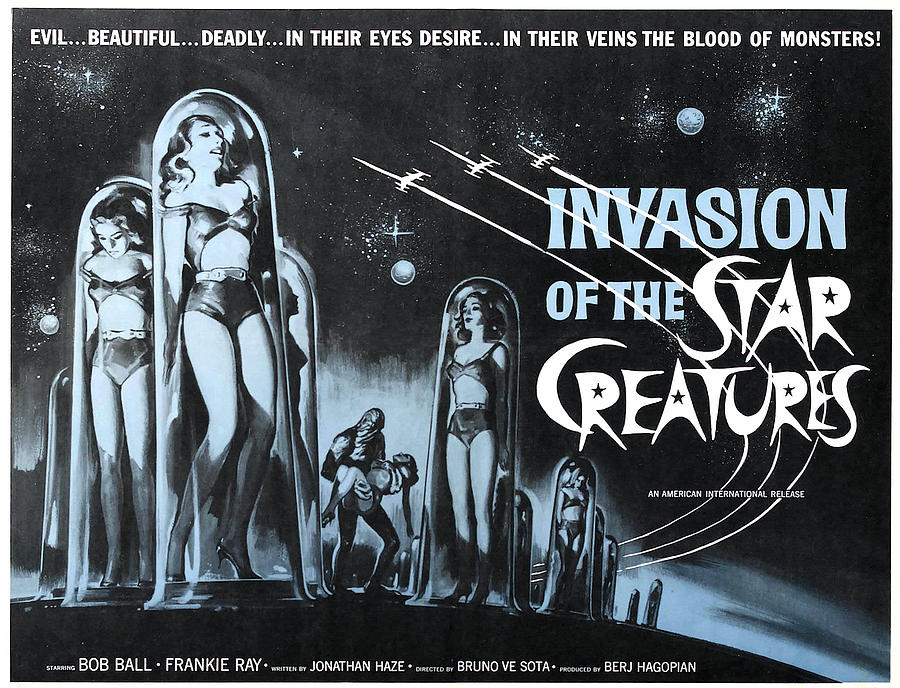 #BMovieManiacs Event: Invasion of the Star Creatures (1962)