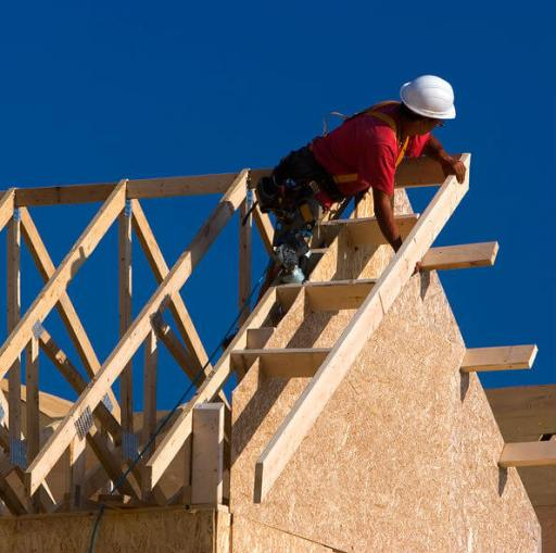 a picture of a pitched roof