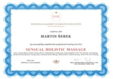 certifikát EASE
