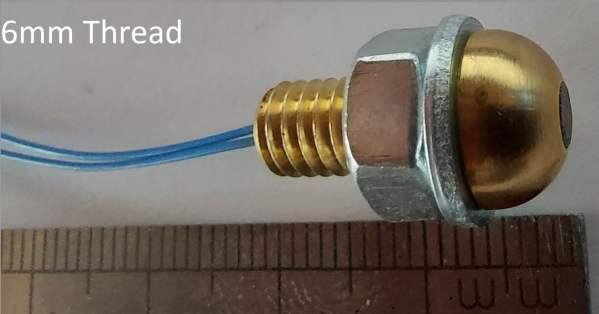 https://bmsparts.co.uk - Brass Button Temperature Sensor