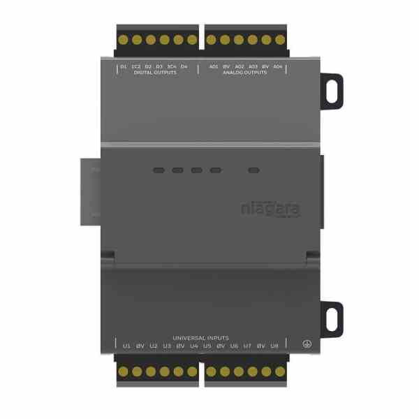 https://bmsparts.co.uk - NRIO module with 8 Universal Inputs, 4 Relay Outputs, 4 Analog Outputs