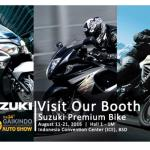 Suzuki Motor Pamerkan Line Up Big Bike Di GIIAS 2016