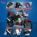 6 Aksesoris Baru Yamaha New Vixion Advance, Berasa Special Edition Dah!!