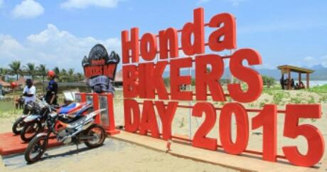 Honda Bikers Day 2015 Pantai Teleg Ria,Pacitan, Jawa Timur