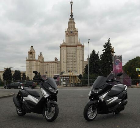 Yamaha NM-X 125 Rusia