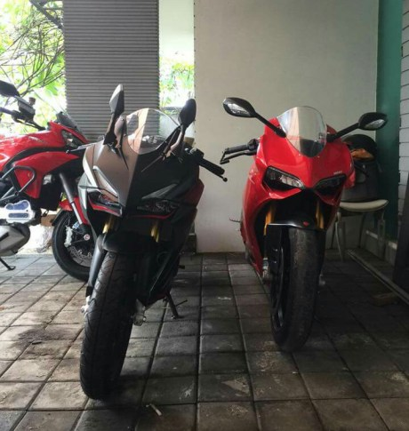 All New Honda CBR250RR with Ducati Paningale