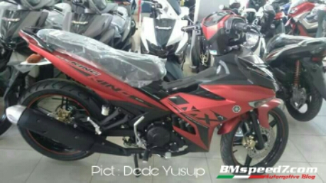 Yamaha MX king 150 Red King