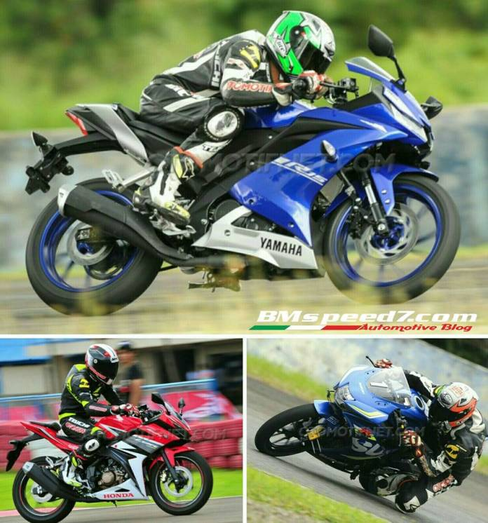 All-New-Yamaaha-R15-Vs-Suzuki-GSX-R150-Vs-New-CBR150R
