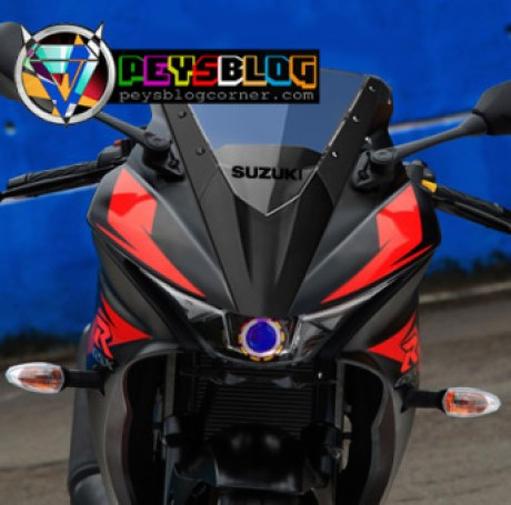 lampu-HID-projie-Suzuki-GSX-R150