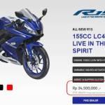 Harga Resmi All New Yamaha R15 2017 Rp 34,5 Juta OTR Jakarta, Tersedia 3 Pilihan Warna!!