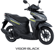 All New Honda Vario 125 eSP 2018 Vigor Black