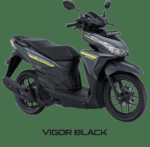 All New Honda Vario 125 Vigor Black
