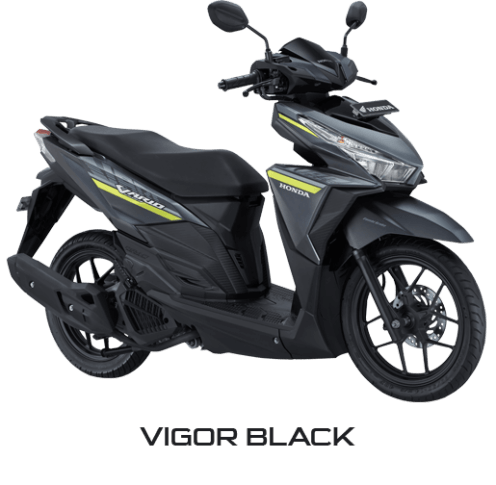 All New Honda Vario 125 eSP 2018 Vigor Black
