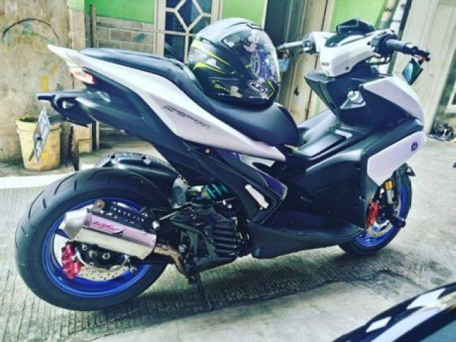 rear-disc-brake-Yamaha-Aerox-155