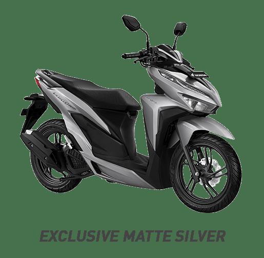 Warna Honda Vario 150 2019 Silver