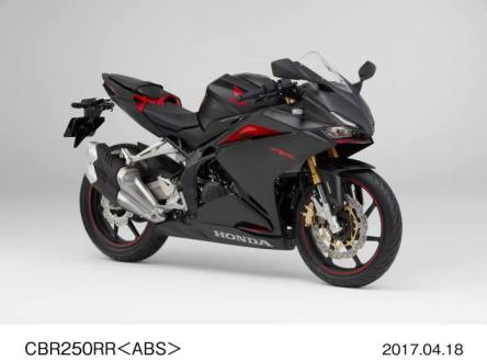 All New Honda CBR250RR Jepan Version Matte Gun Powder Black Metallic