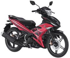 Yamaha MX King 150 Warna Merah Doff