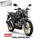 All New Honda CB150R Terbaru 2017 warna Stallion Black