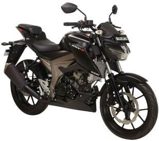 Suzuki GSX-S150 Warna Hitam Doff