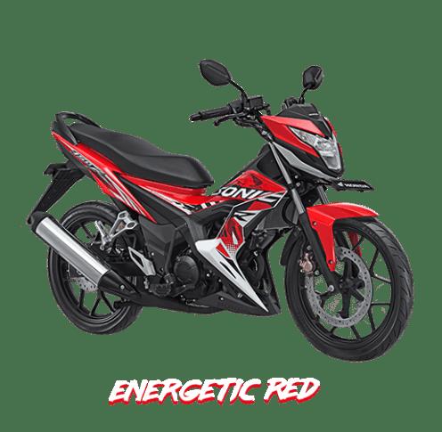 Honda Sonic 150R 2018 Merah Metalik/Energetic Red