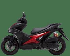 Yamaha-Aerox-155-2018-Matte-Black-Tampak-Samping-Kiri