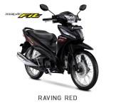Honda Revo Fit 2018 Warna Hitam Stripping Merah/Raving Red