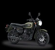 Foto Studio Kawasaki W175 2018 SE Green Matte