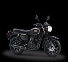 Foto Studio Kawasaki W175 2018 SE Black Metallic