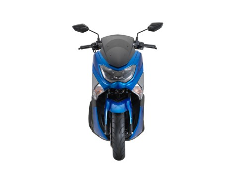 NMAX 155 Facelift 2018 Blue Front View