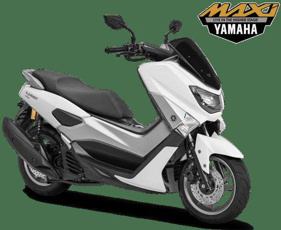Yamaha NMAX White Metallic