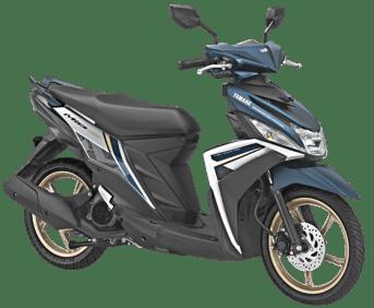Yamaha Mio M3 2018 Warna Biru-Putih Velg Emas!