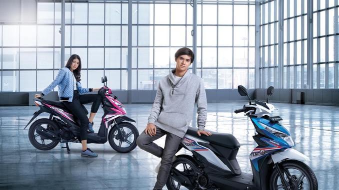Foto 8 Pilihan Warna Honda BeAT 2018 Terbaru Tipe CW CBS Dan