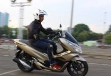 Test Ride Honda PCX 2018