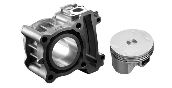 Diasil Cylinder & Forged Piston