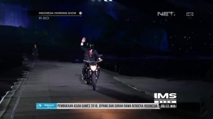 Opening Asian Games 2018