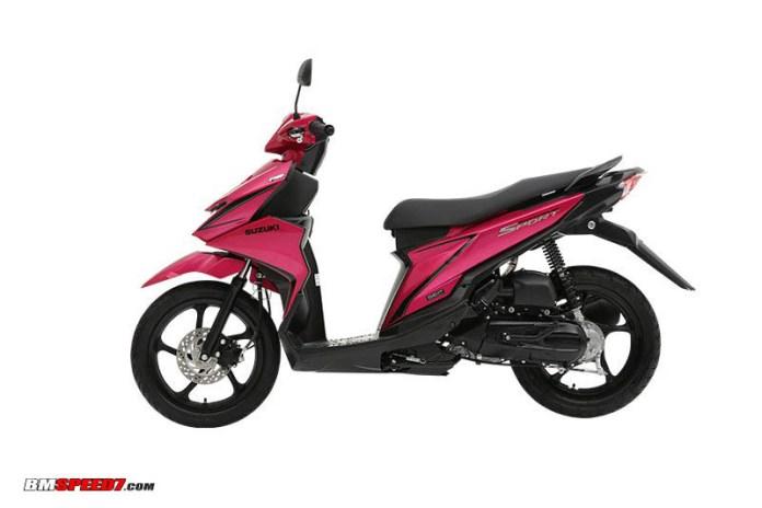 Suzuki SkyDrive Sport Pink