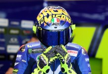 Helm AGV Rossi Misano 2018