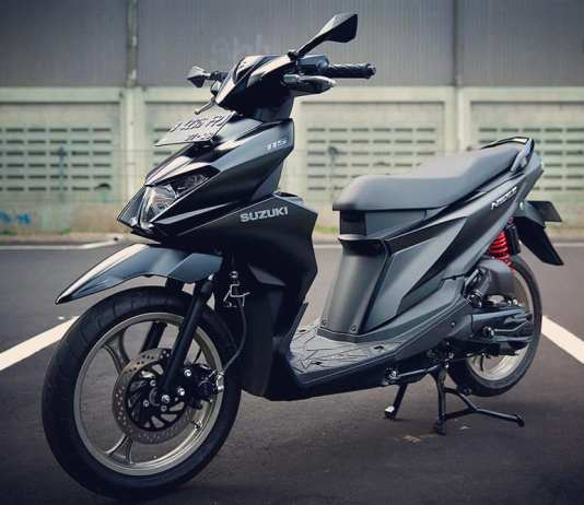 Modif Suzuki Nex II