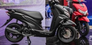 Yamaha FreeGo Warna Hitam