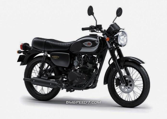 Kawasaki W175 Black