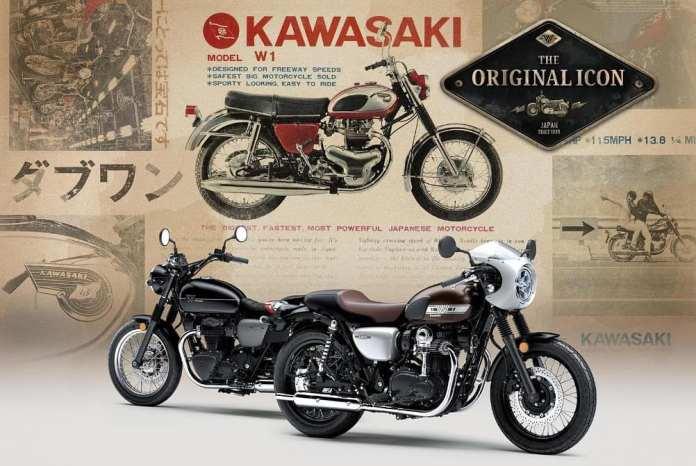 Kawasaki W800 2019 Cafe Racer dan Street