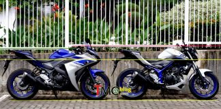 Yamaha R25 VS MT-25